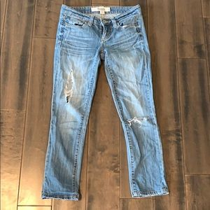 Charlotte Russe Distressed Jean